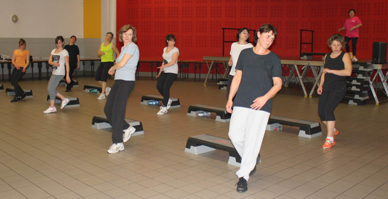 fit-form héricourt, cours de step